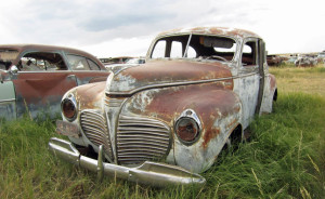 Plymouth Special Deluxe Rust