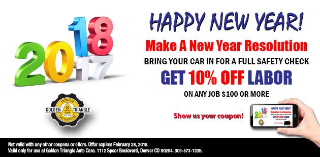 Happy New Year - January  2018 Deal