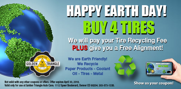 Earth Day Promotion April 2018
