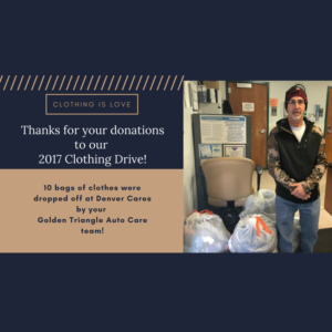 2017 Clothing Drive Success
