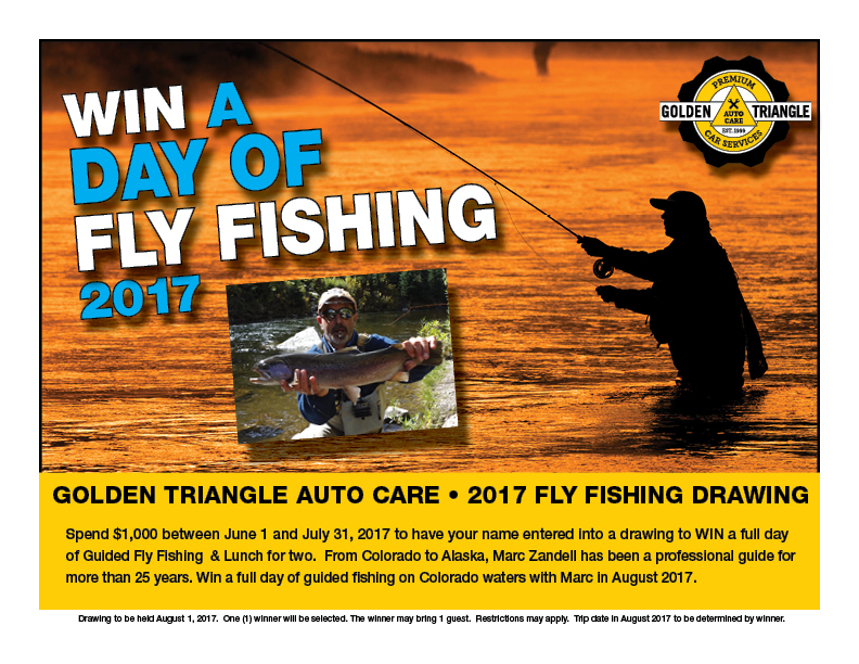 Win a Full Day of Fly Fishing on a Colorado river in August 2017