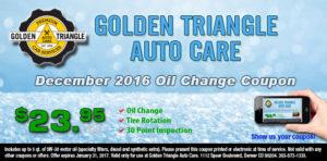 Oil Change December 2016