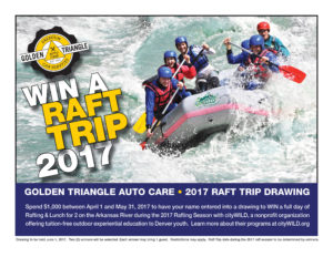 Win a Raft Trip for Two on the Arkansas River in 2017 Raft Season