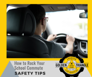 How to Rock Your School Commute Safety Tips Boy Driving Car