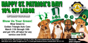 St. Patrick's Day - Week - Labor Deal