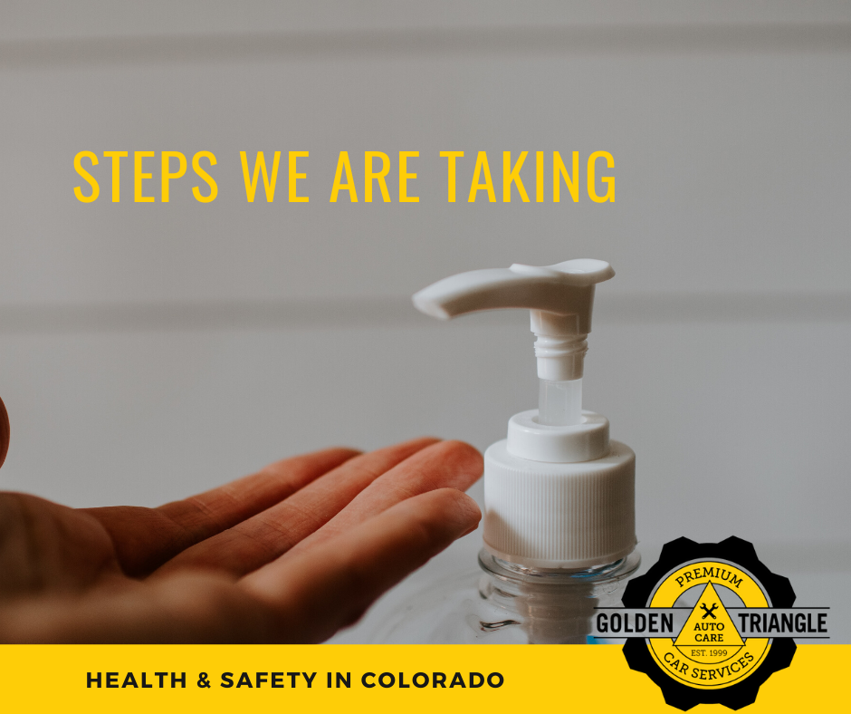 Hand Sanitizer Steps We Are Taking Health & Safety in Colorado