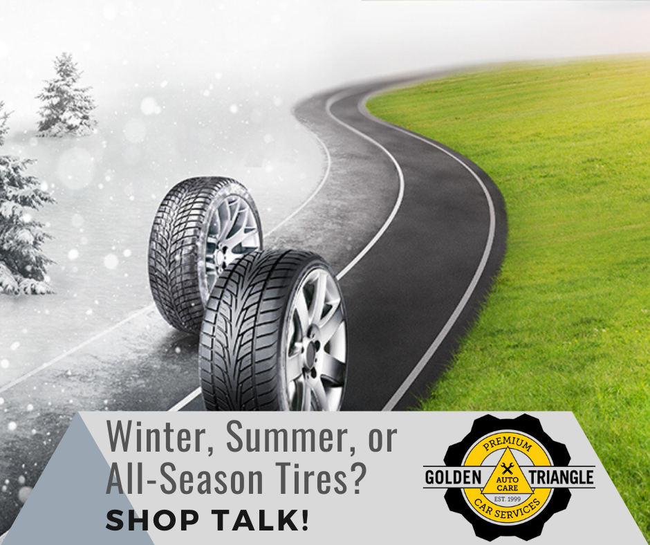 Tires in Winter Tires in Summer Conditions