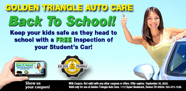 Back to School Free Student Vehicle Inspection