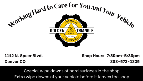 We Work Hard to Care for You and Your Car | Extra Wipe Downs during Covid by Golden Triangle Auto Care