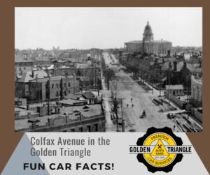 Golden Triangle Auto Care Fun Car Facts Colfax Avenue Denver CO