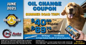 Downtown Denver Oil Change Deal $40 regular or $69.75 synthetic up to 5 quarts valid thru 6-30-21