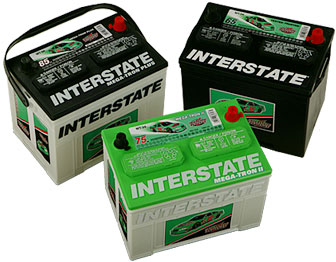 Interstate Car Batteries - 3 choices